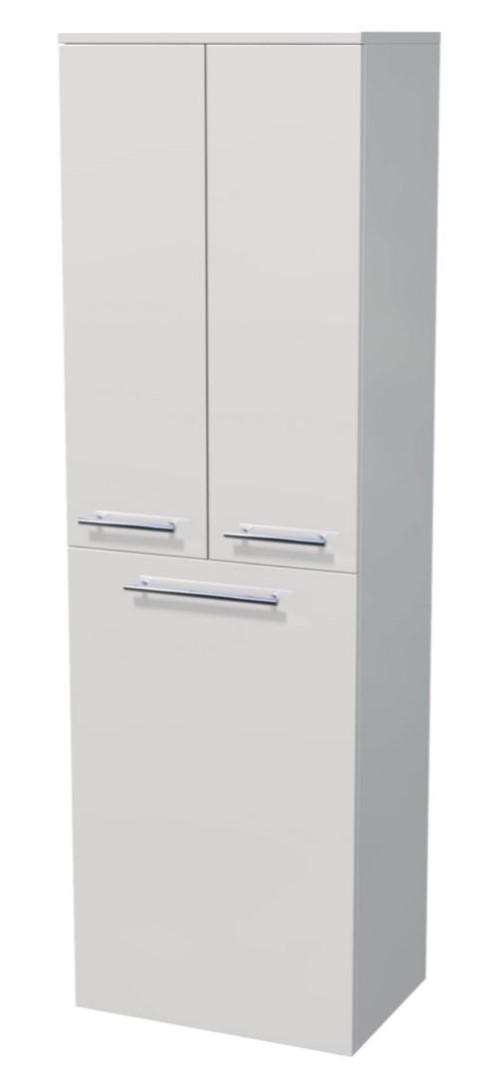 Vysoká skříňka 3 dveře, koš 50x35x161,8 cm