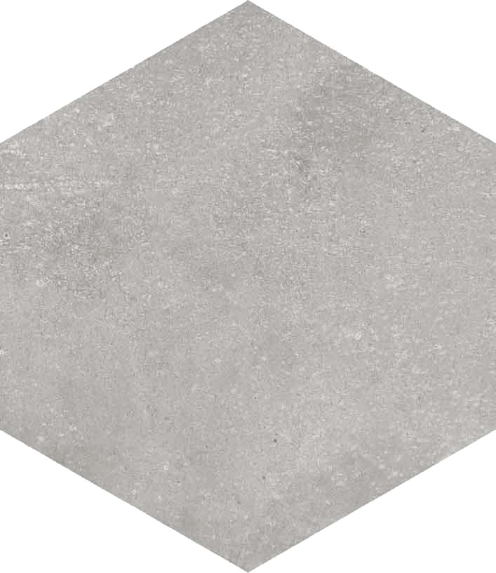 Dlažba Hexagono Cemento, 23x26,6cm, série Rift