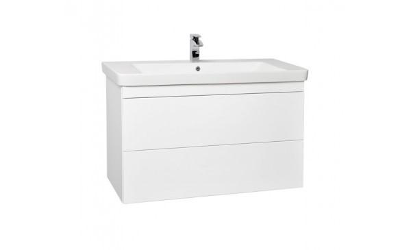 Umyvadlová skříňka s dvěma výsuvy 105x65x46 cm, push systém, včetně umyvadla