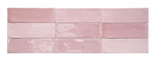 Obklad Tabarca Rosa 7,5x23 cm, lesk
