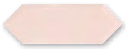 Obklad Cupidón Rosa Brillo Bisel, 10x30 cm, lesk s fazetou