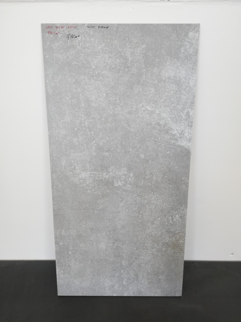 Obklad/ dlažba Grey 40x80 mat, 10 mm