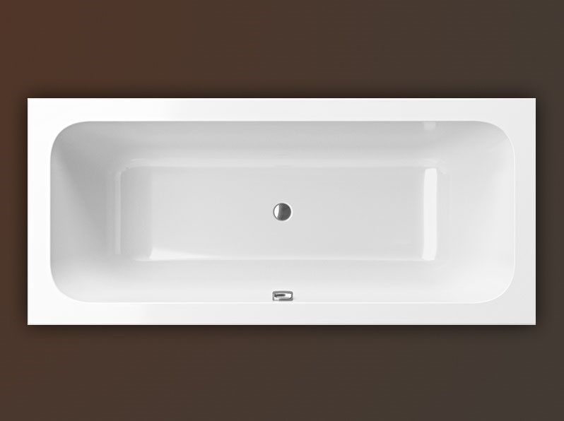 Vana Milo Slim 1605x705 mm, litý akrylát