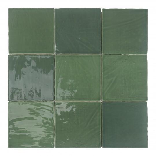 Obklad Tabarca Verde 15x15 cm, lesk