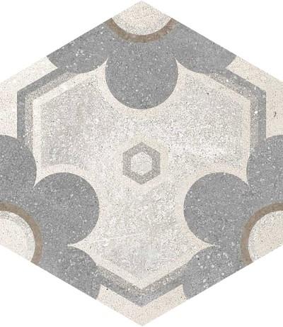 Dlažba Hexagono Yereban, 23x26,6cm, série Rift