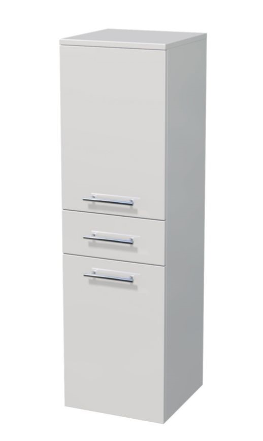 Střední skříňka 2 dveře, 1 zásuvka 35x35x121,8 cm
