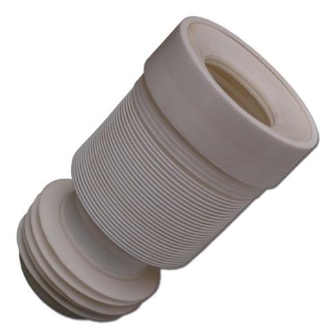 Flexi odpad k WC, DN110 - roztahovací, drží tvar, série Odpad WC