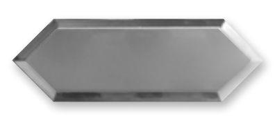 Obklad Cupidón Silver Base Bisel 10x30 cm, lesklý s fazetou