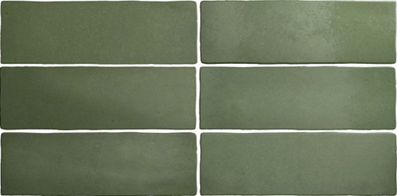 Obklad Malachite 6,5x20 cm, mat