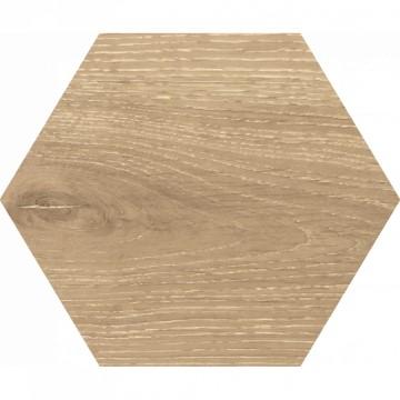 Dlažba Yosemite Hexagon Beige 20x24 cm, mat