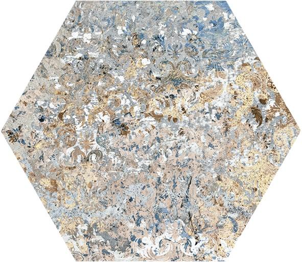 Obklad/dlažba Vestige Hexagon 25x29 cm, série Carpet