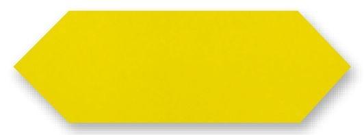 Obklad Cupidón Limon Brillo Liso, 10x30 cm, lesk