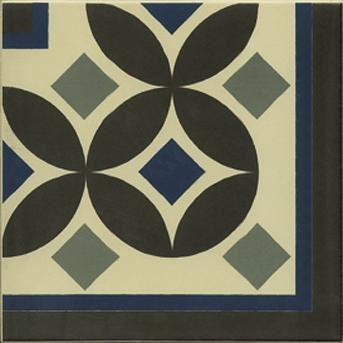 Dekor Guell-3, 20x20cm, série 1900