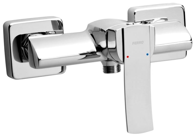Sprchová nástěnná baterie, chrom, rozteč vývodů 150mm, série Veneto