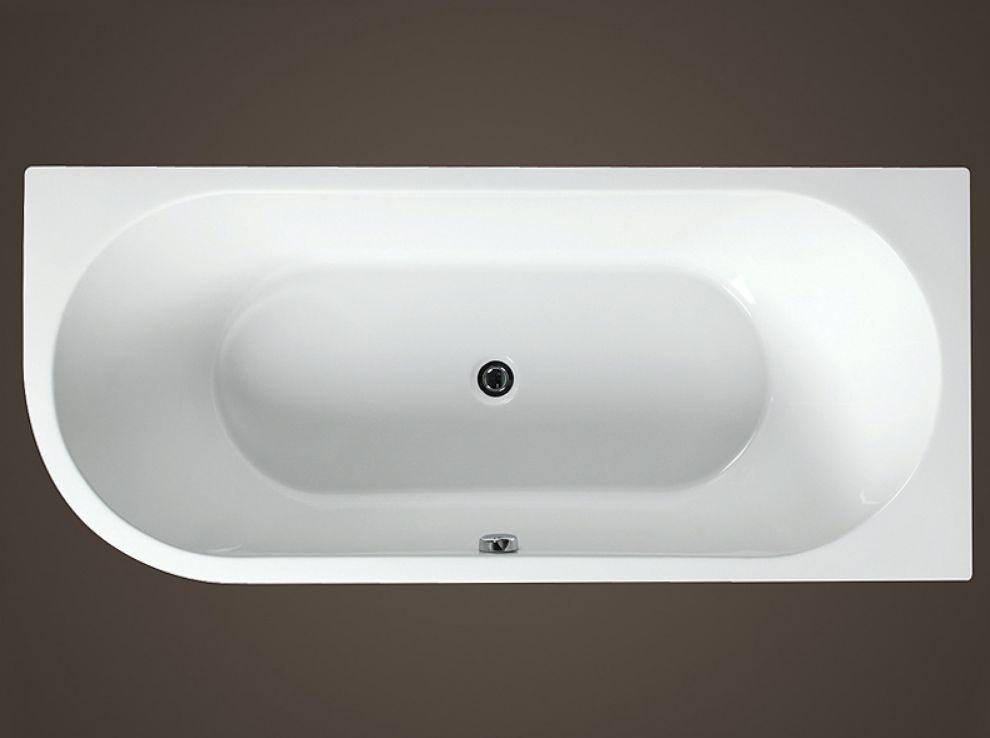 Vana Gemini 1700x750 mm, levá, litý akrylát
