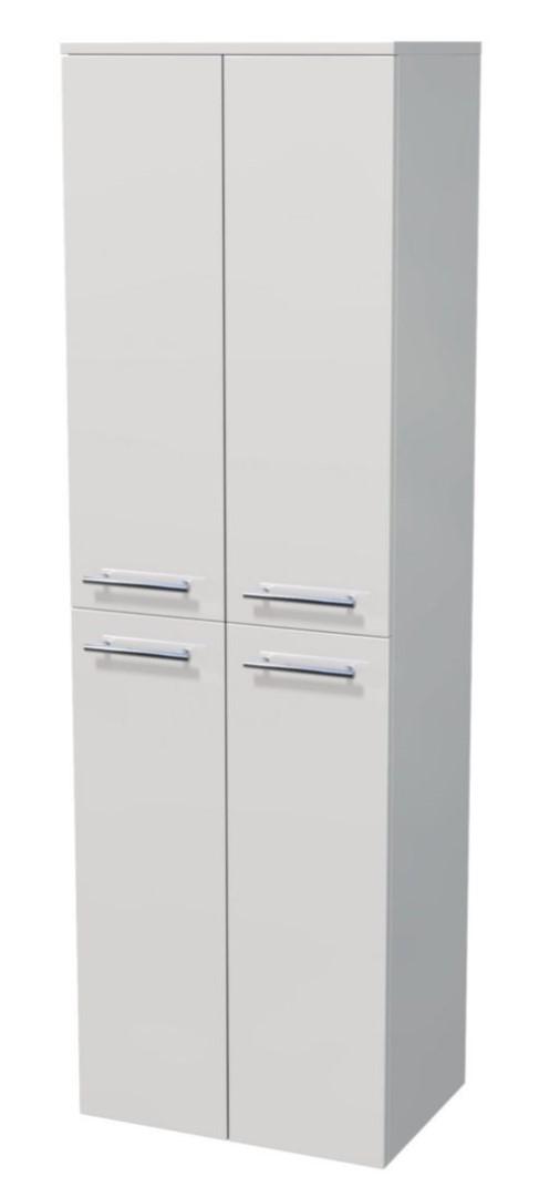 Vysoká skříňka 4 dveře 50x35x161,8 cm