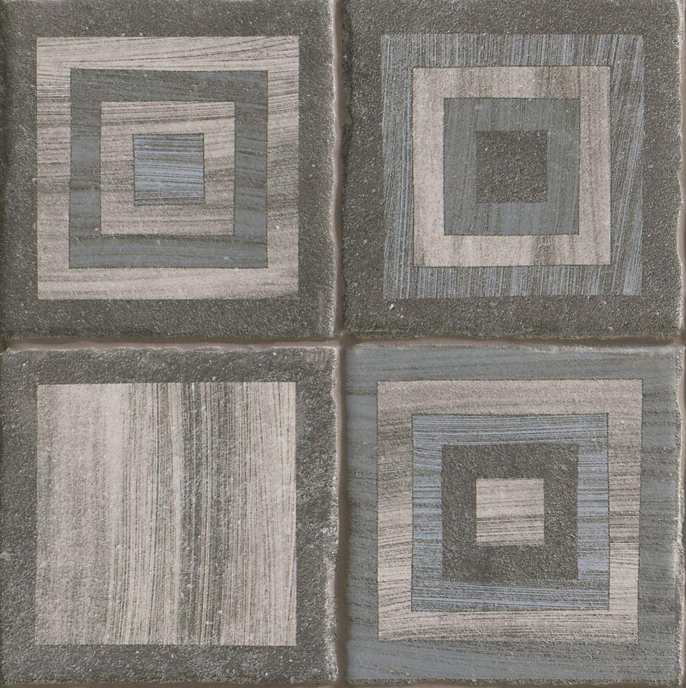 Dlažba Crayon Sky Basalt 22,5x22,5 cm, mat