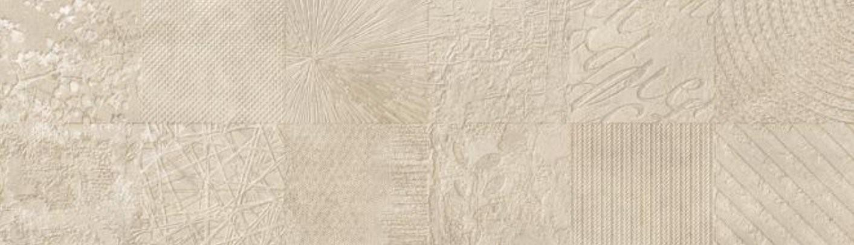 Dekor Atelier Sand, 29x100 cm, matný, rektifikovaný